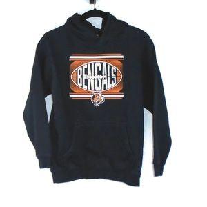 NFL Kids Cincinnati Bengals Hoodie Sz M 10-12